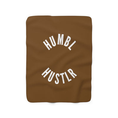 Humbl Hustlr Fleece Blanket Black