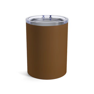 Humbl Hustlr Tumbler 10oz Brown