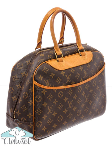 Louis Vuitton Monogram Canvas Leather Deauville Bag