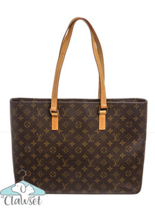 Louis Vuitton Monogram Canvas Leather Luco Shoulder Bag