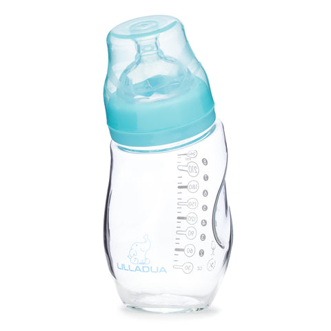 ANTI-COLIC CURVED GLASS BOTTLES - Lilladua