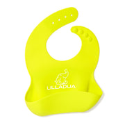 Waterproof Silicone Bib With Pocket - Lilladua