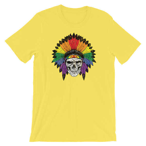 Skull Wearing PRIDE Headdress