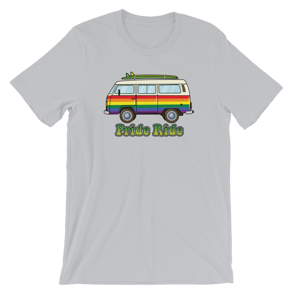 Pride Ride Retro Surfer Bus