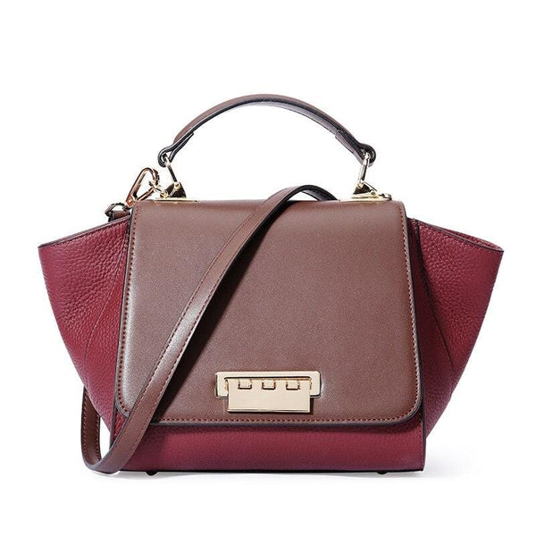 Siena Duo Bordeaux Leather Bag