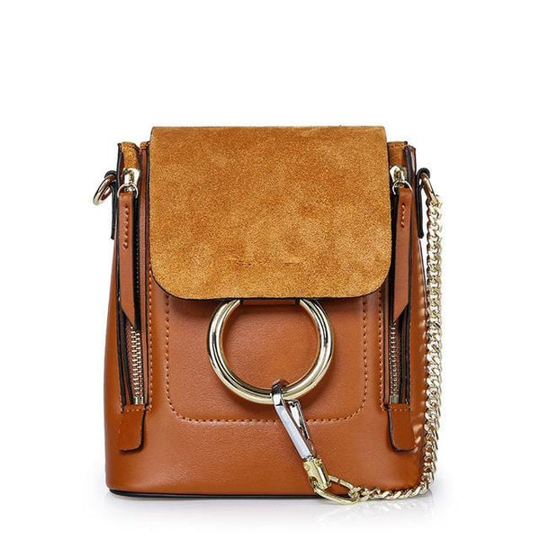 Kara Brown Leather&Suede Bag