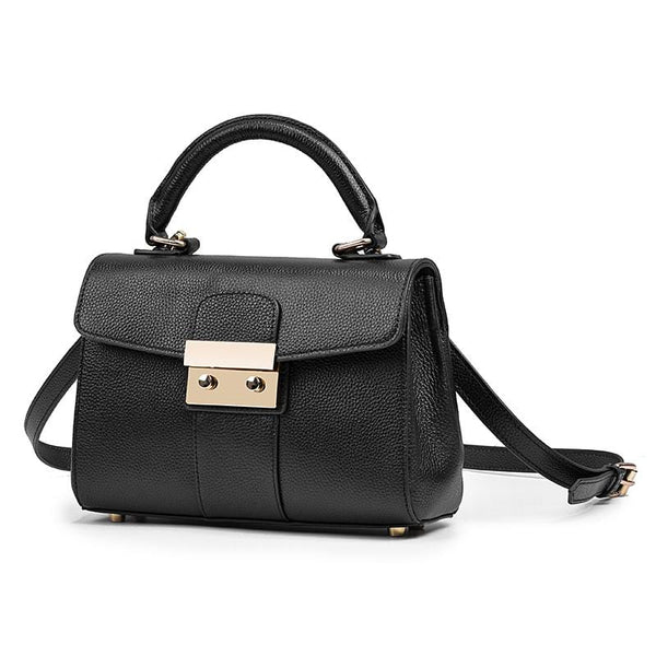 Core Black Leather Bag