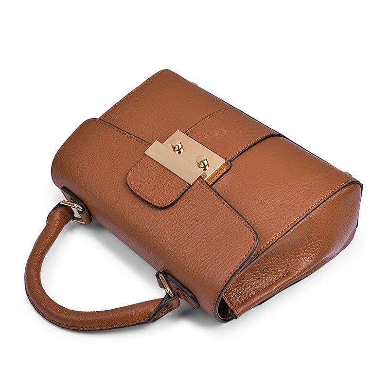 Core Caramel Leather Bag