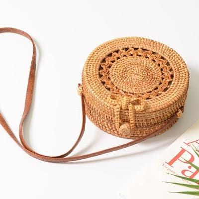 Summer@Coachella Rattan Bag