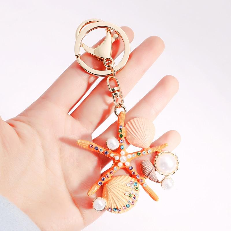 Beach Starfish Bag Charm