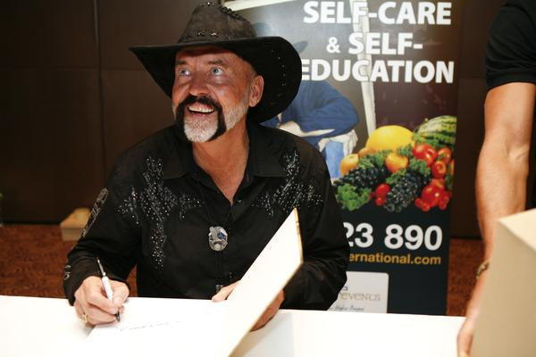 Don Tolman Signing Autograph - Where Truth & Health Lies Event