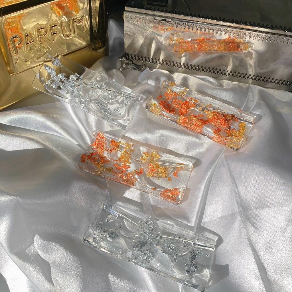 1 Pair Resin Lash Tray