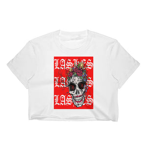 LASHES SKULL Crop Top