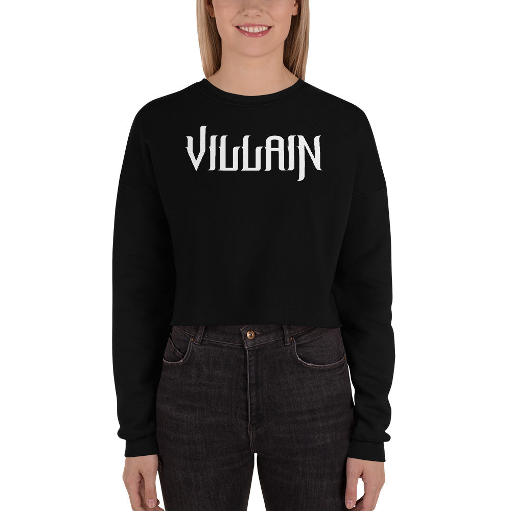 Villain Crop Sweatshirt