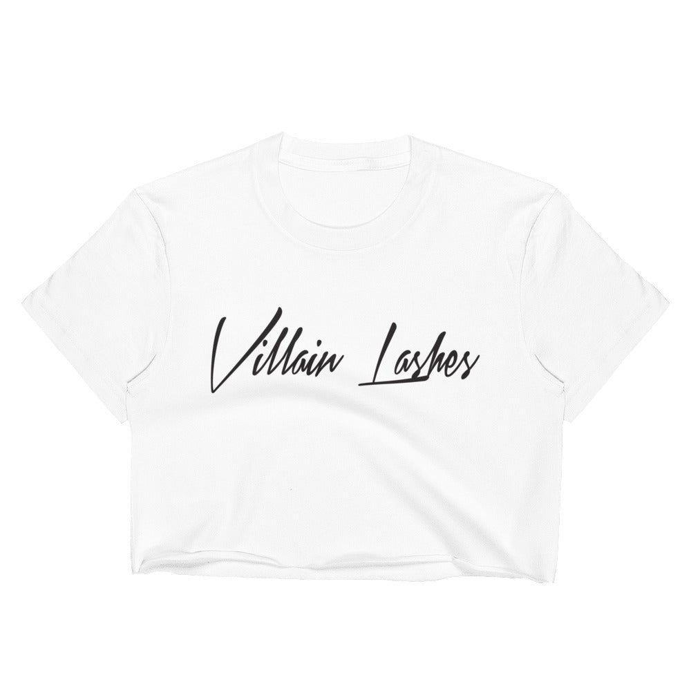 Villain Lashes Crop Top