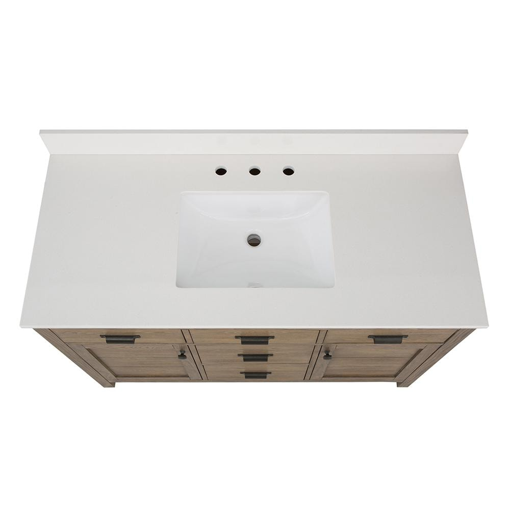 Home Decorators Collection Stanhope 49 In W X 22 In D Vanity In Recl Decohub Home Outlet Store