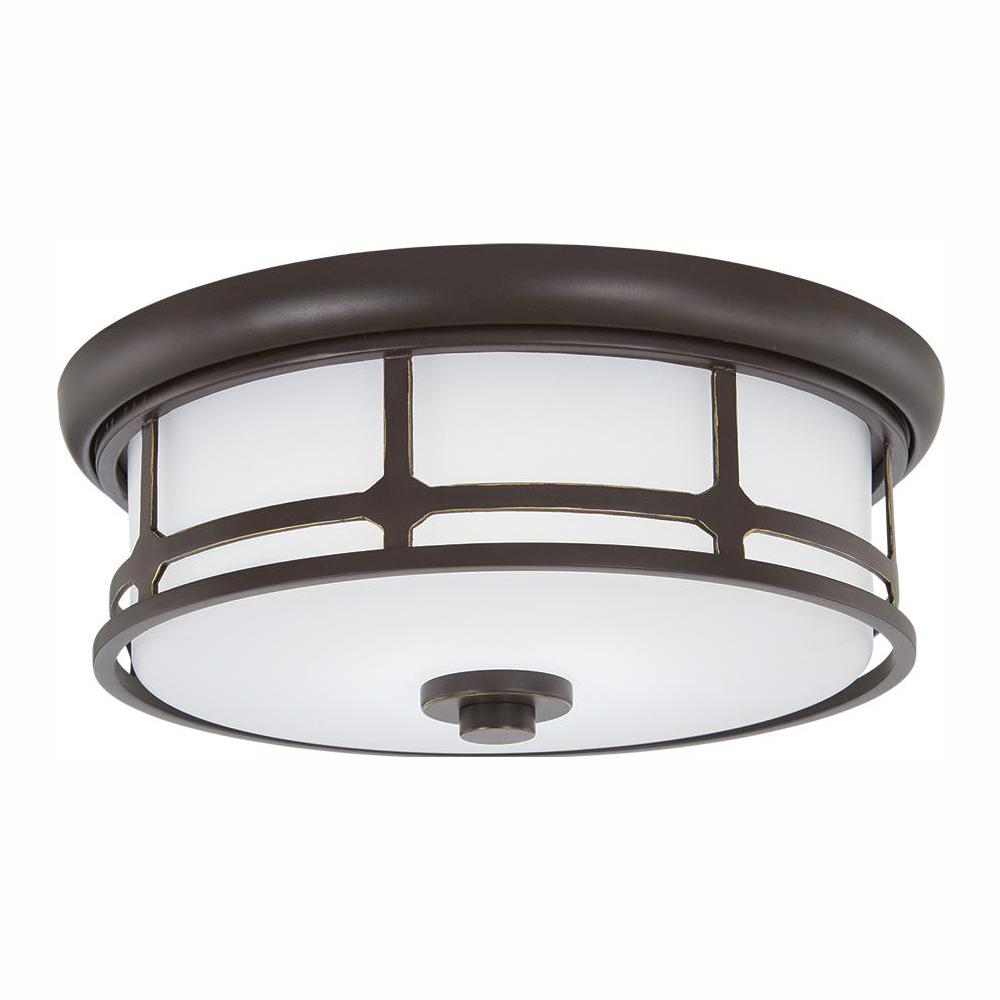 Home Decorators Collection Portland Court 14 In Oil Rubbed Bronze Led Decohub Home Outlet Store