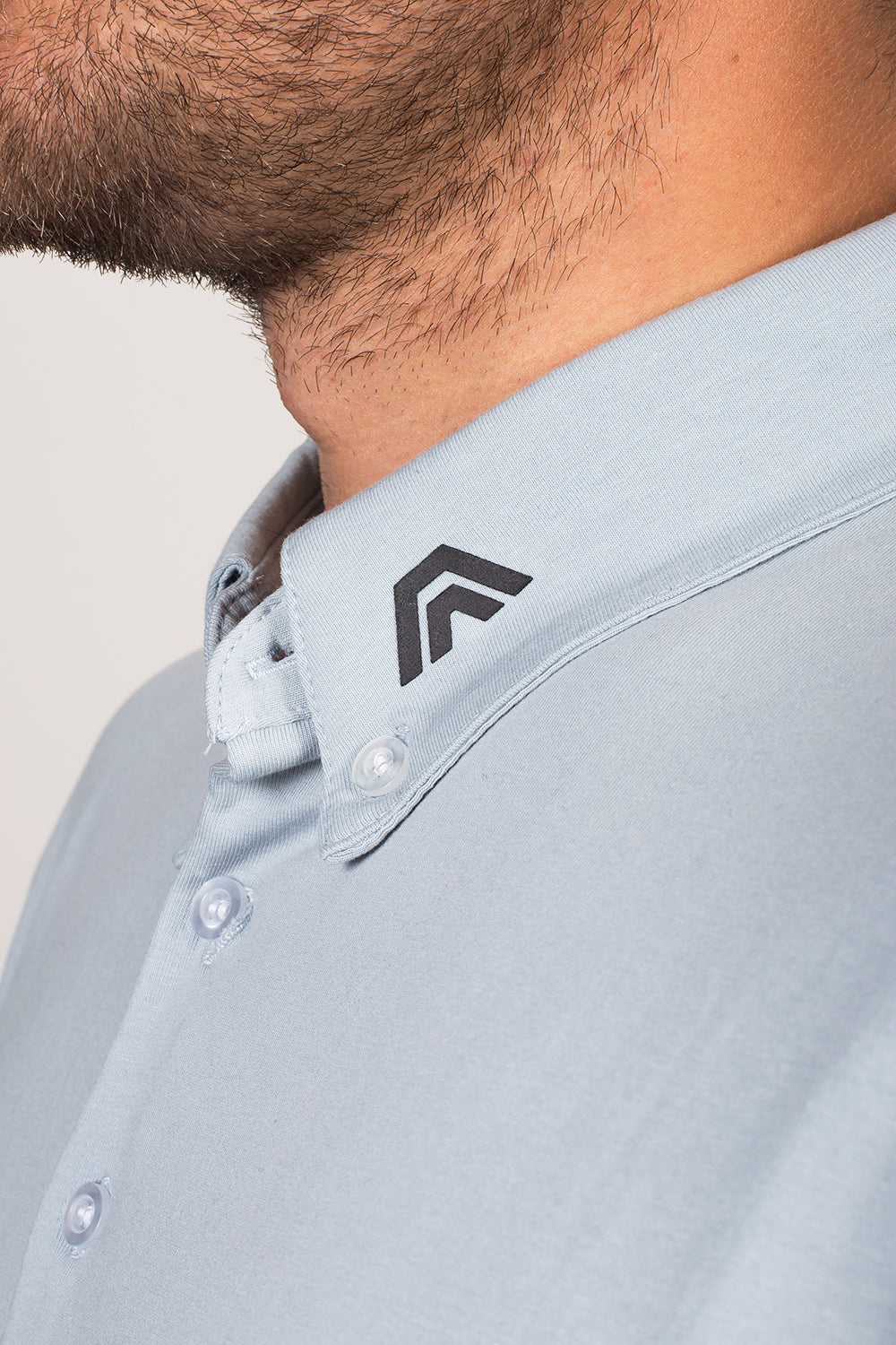 battleship grey, aces original, golf apparel, golf clothing, polo, athletic fit, premium quality, style fused with performance, affordable, aces
