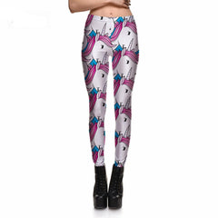 Cartoon Unicorn Leggings
