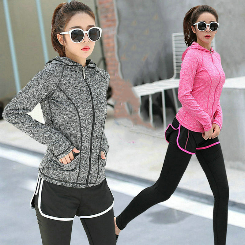 Running and Fitness Long Sleeve Sports Jacket - Women's - Active Gear Depot