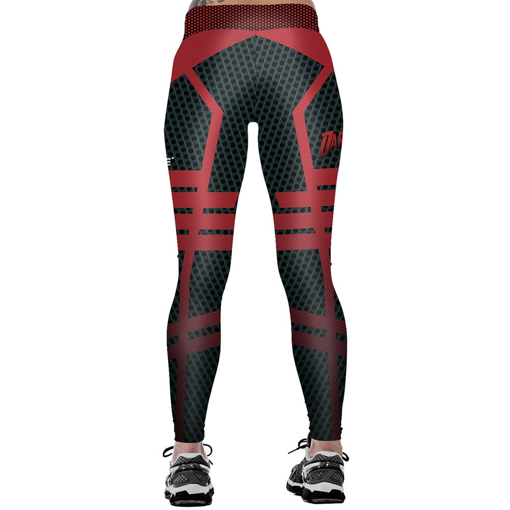 GLAMR LEGZ Running & Gym Compression Leggings- Women - Active Gear Depot