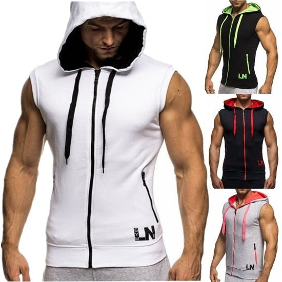 GUNZ Gym and Bodybuilding Sleeveless Hoodie - Fitness Gear - Active Gear Depot