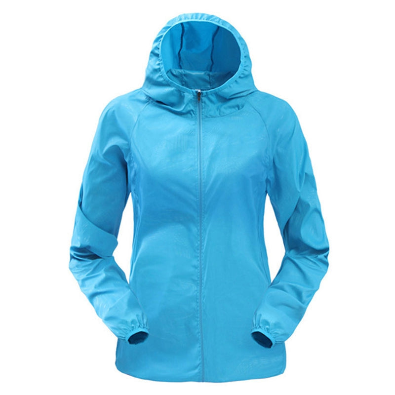 Ultra light Hooded Windbreaker Running Jacket - Women's - Active Gear Depot
