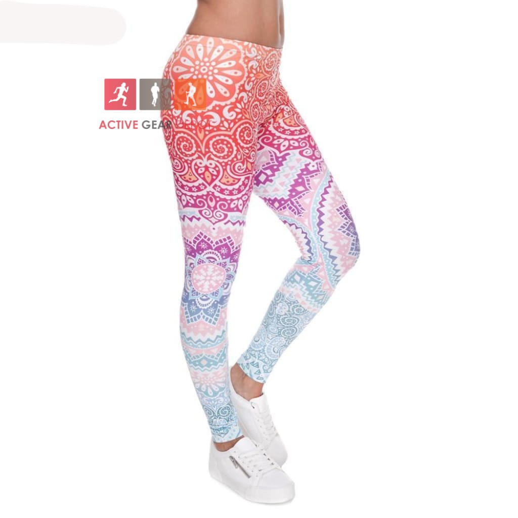MANTRAZ Gym and Fashion Leggings. - Active Gear Depot