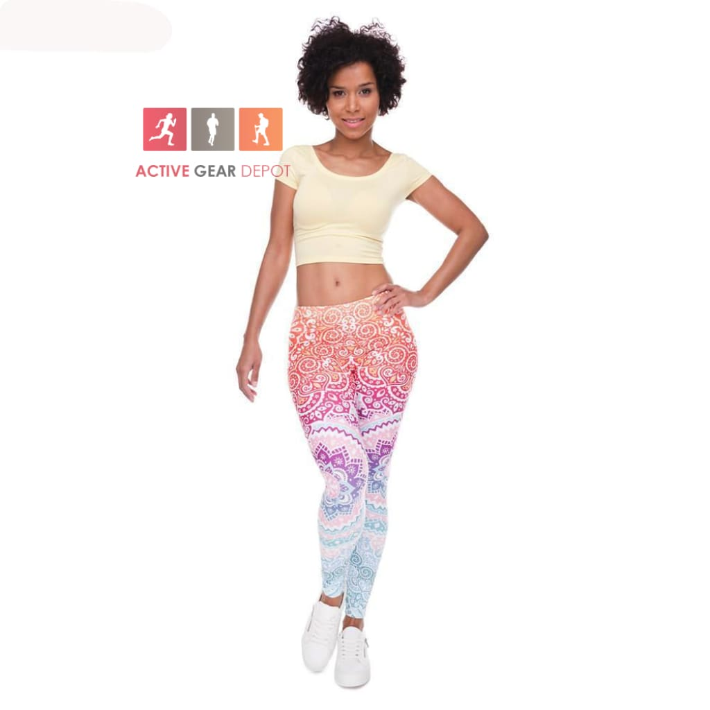89d34d644164a MANTRAZ Women's Gym and Fashion Leggings. - Active Gear Depot. Double click  for enlarge