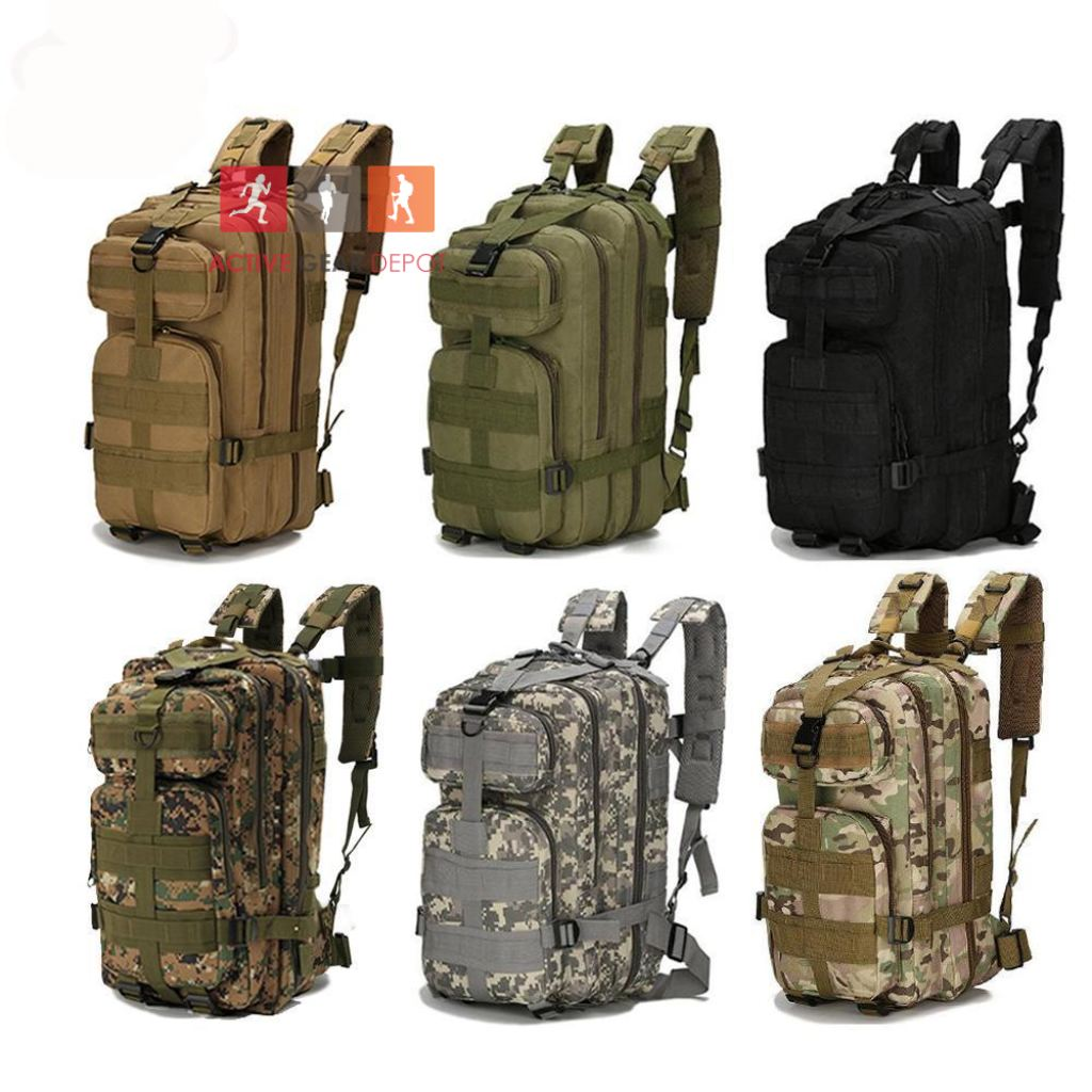 Tactical Outdoors Hiking and Camping 40L Backpack - Active Gear Depot