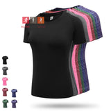 Women's Quick-Dry Mesh Fitness -  T Shirt