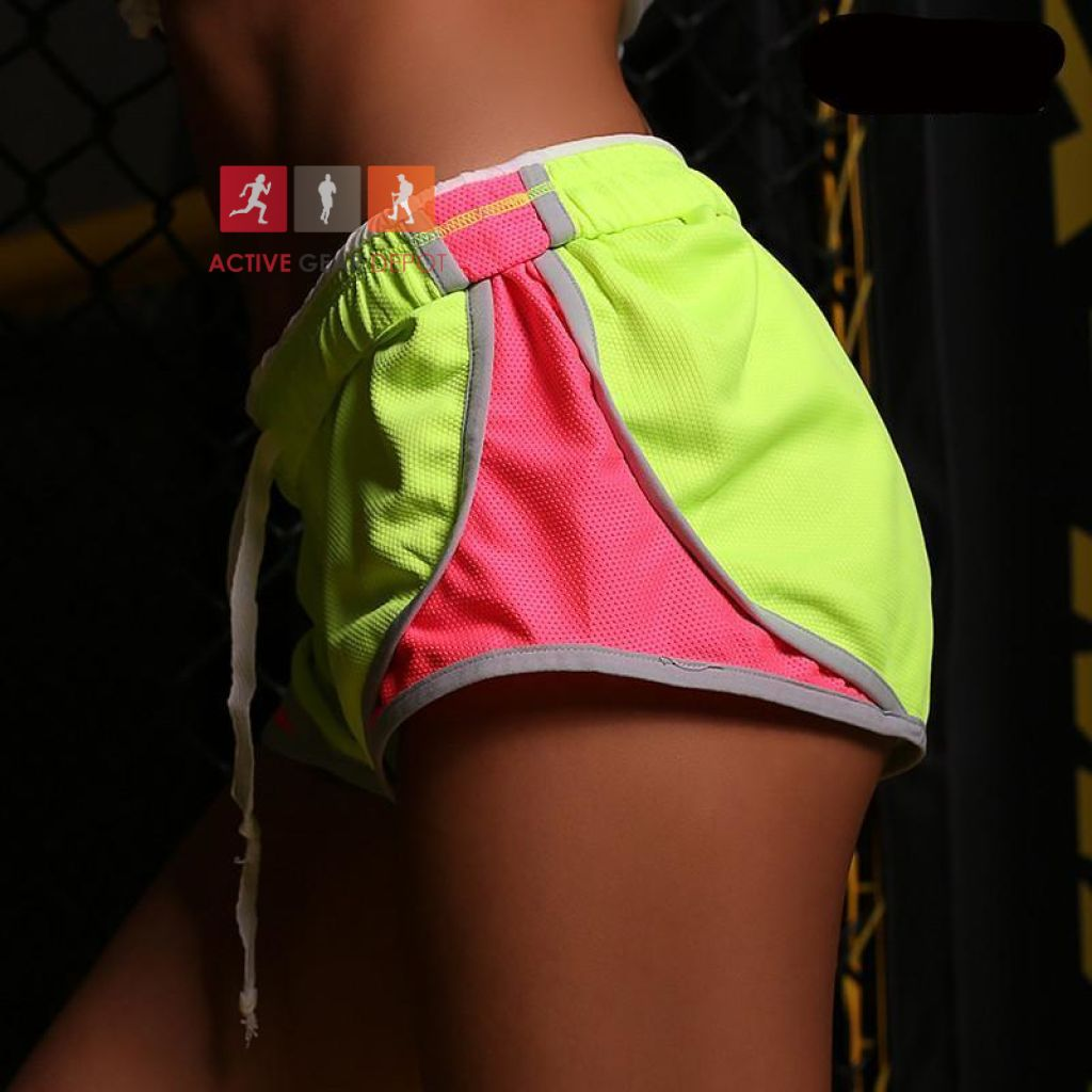 Women's Shorts Fluoro Fitness Shorts - Active Gear Depot
