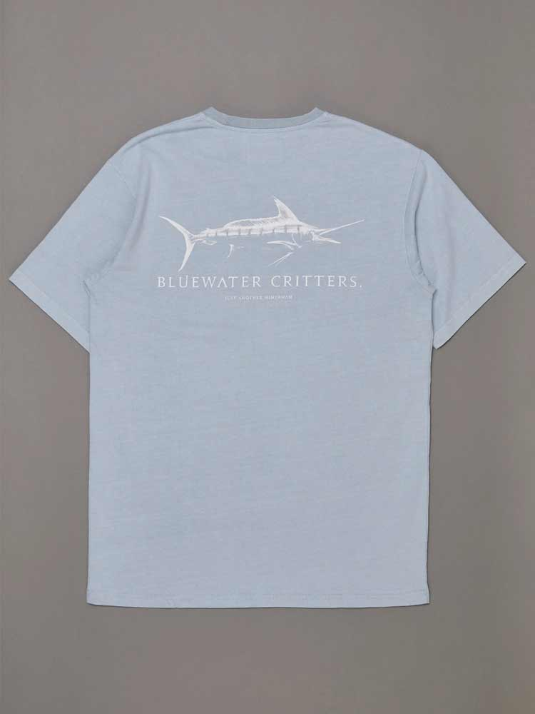 Bluewater Critters Tee Coastal Blue