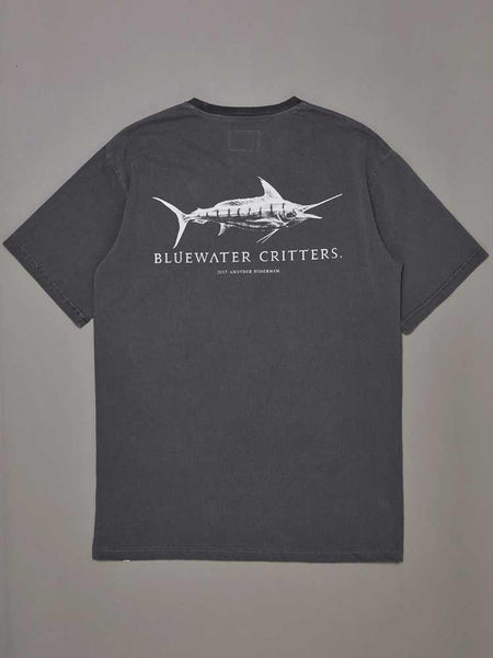 Bluewater Critter Tee Aged Black