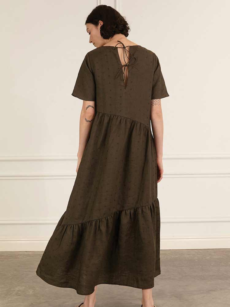 Carly Dress Khaki