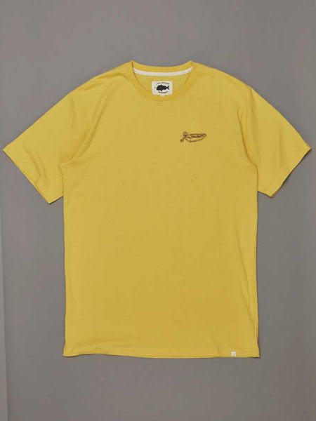 Dinghy Tee Washed Yellow