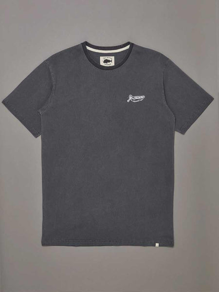 Dinghy Tee Aged Black