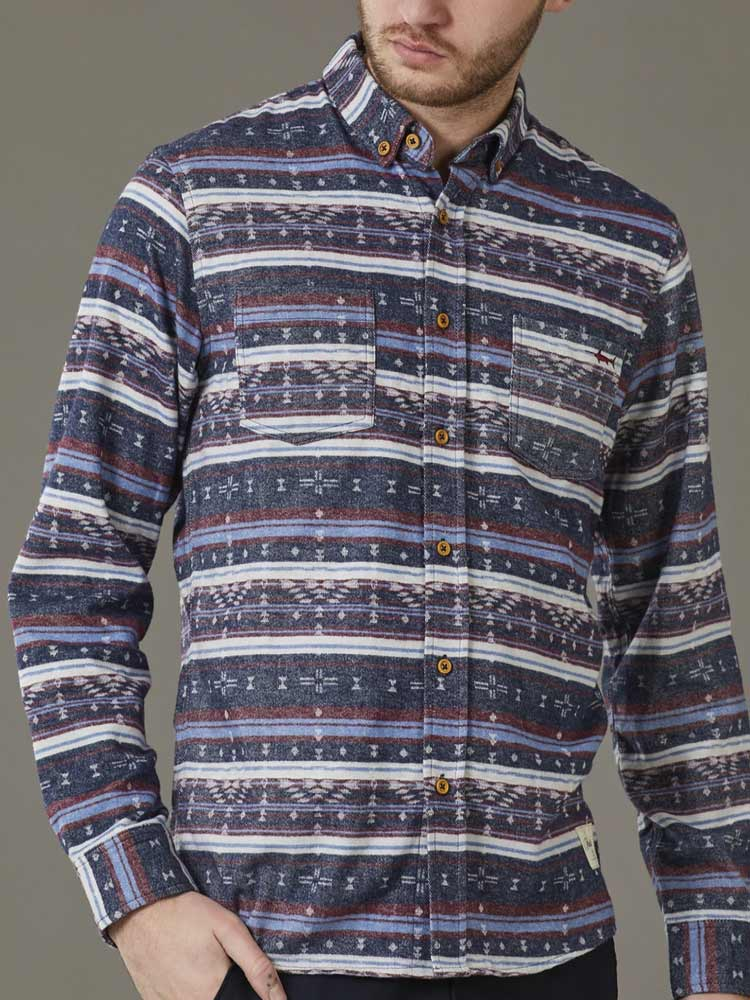 Folk Flannel Shirt