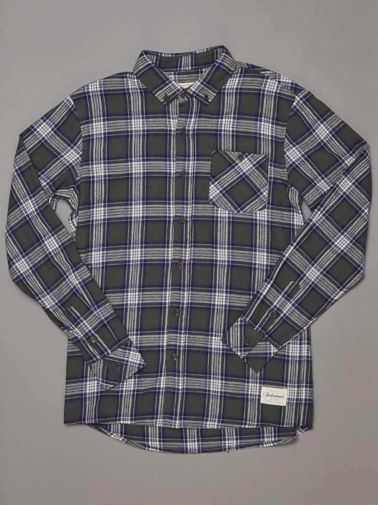 Boatyard Shirt Green Check