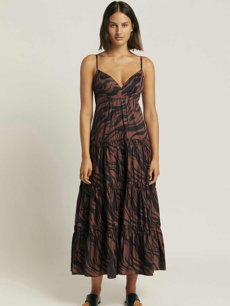 Nomade Tiered Maxi Dress