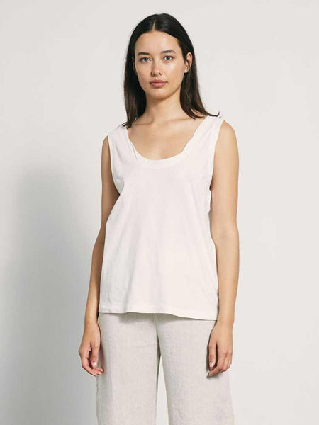 Lucy Tank Ivory