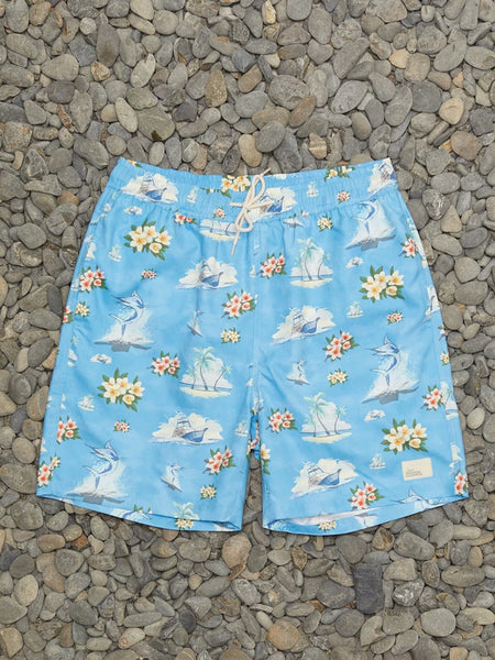 Floral Marlin Shorts