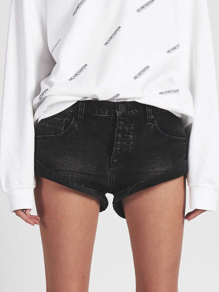 Bandits Denim Short Black