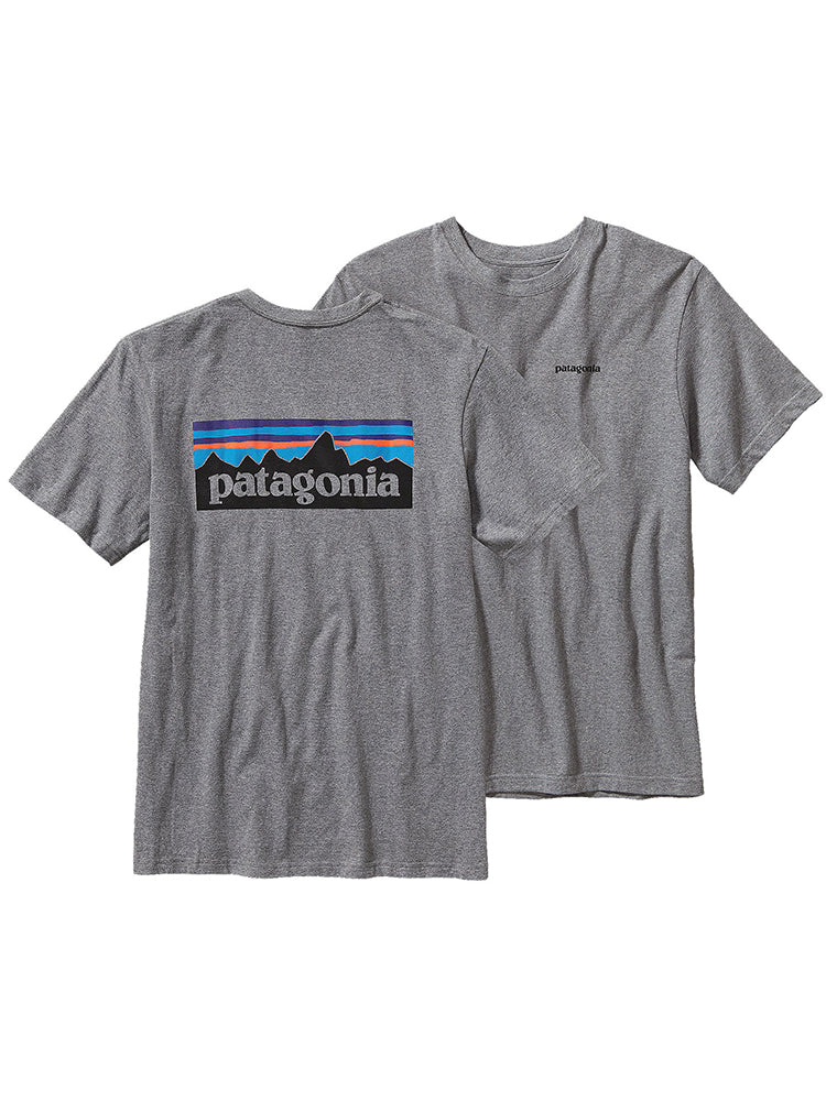 Patagonia P-6 Logo Cotton Tee Shirt
