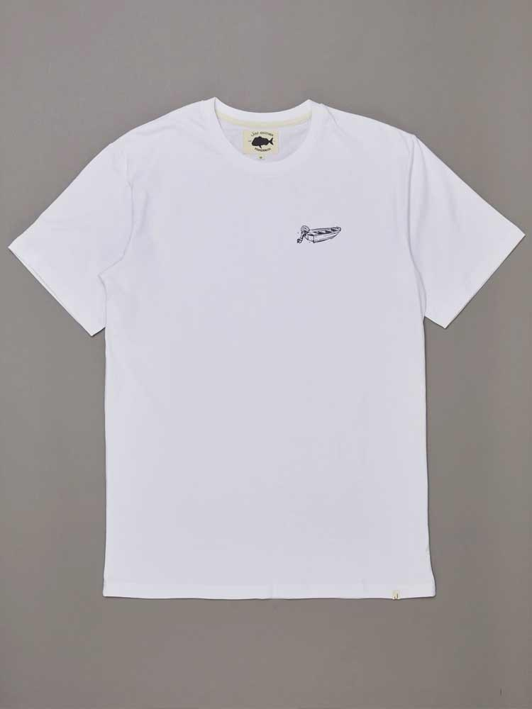 Dinghy Tee White