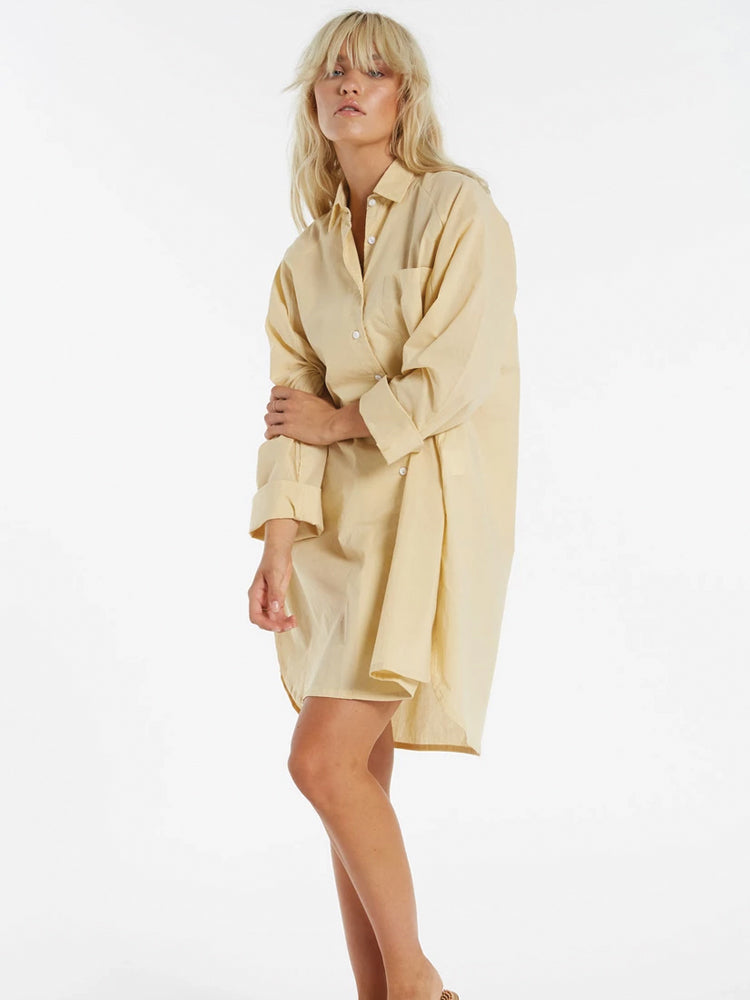 Sunray Shirt Dress