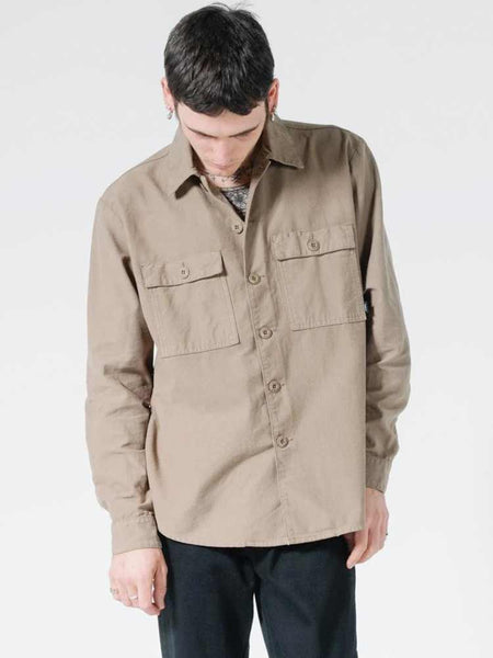 Liste Oversize Long Sleeve Shirt