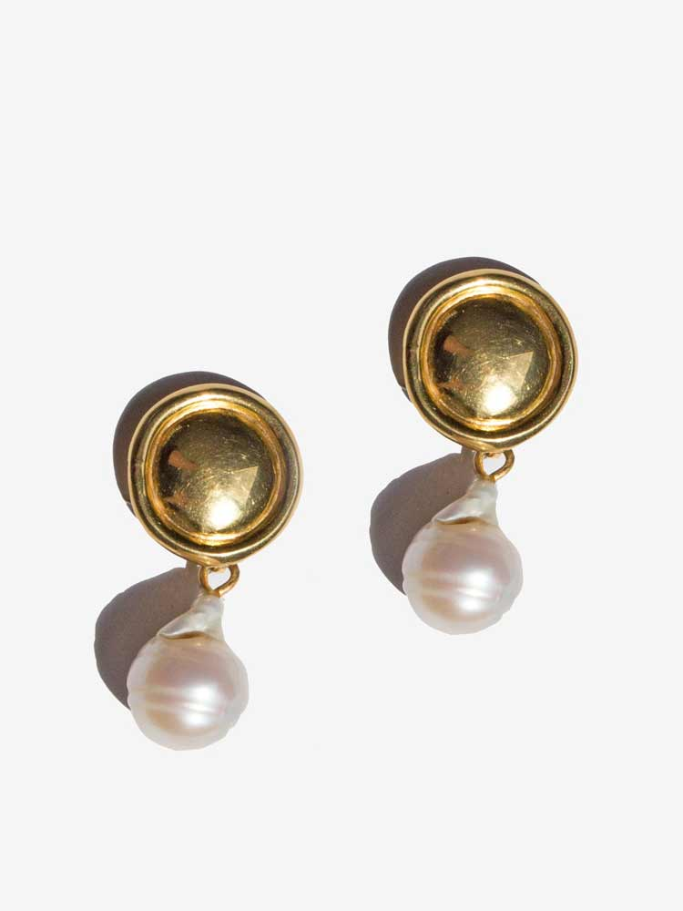 Eva Earings 1x Fresh Water Pearl