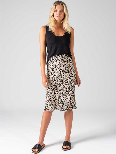Wild Hearts Bias Cut Skirt