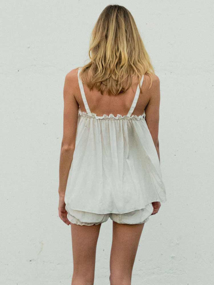 Beach Bloomers Off White Set